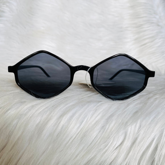 Black Diamond Shape Sunglasses