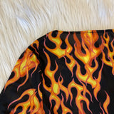 Mesh Flames Long Sleeve