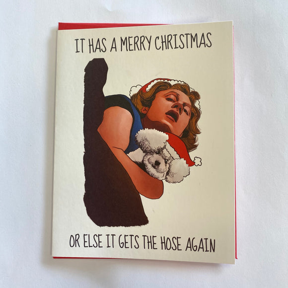 Silence of the Lambs Holiday Card