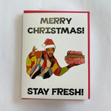 Fresh Prince Of Bel-Air Holiday Card