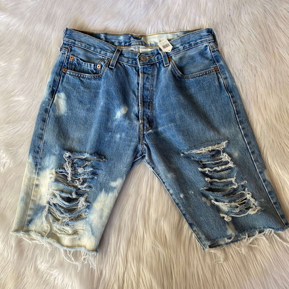 Levis Upcycled Denim Shorts