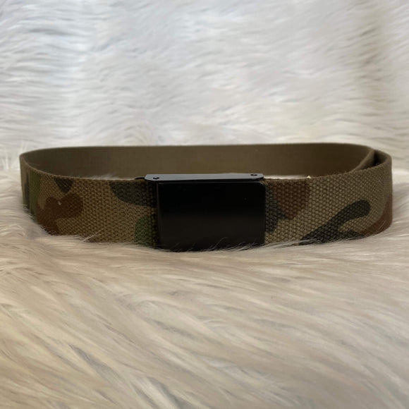 Military Belt with Buckle