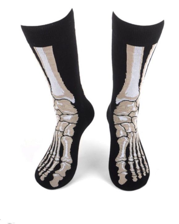 Parquet Skeleton Socks