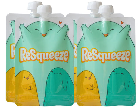 4-pack ReSqueeze (9 oz.)
