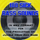 100 SICK JUNGLE DNB BASS SOUNDS! VOL 1
