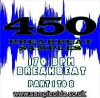 450 BREAKBEATS!!! 170BPM 1-8