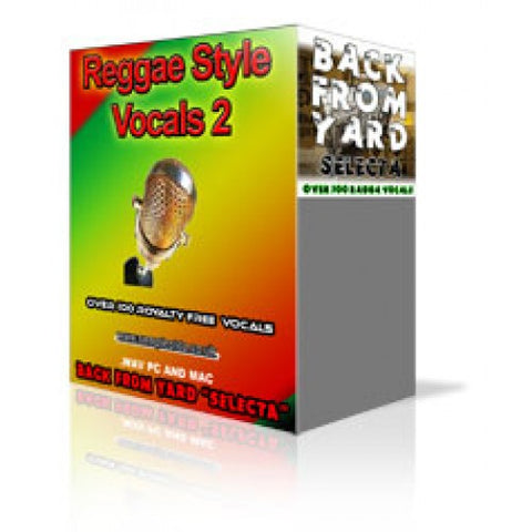 RAGGA JUNGLE STYLE VOCALS 2