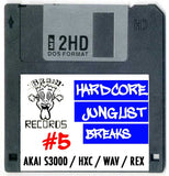 Hardcore Junglist Breaks Collection ( 10 Disks )