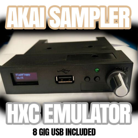 Hxc Emulator pre Configured for any AKAI Sampler