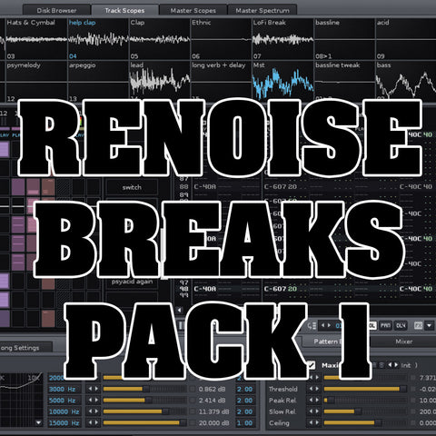 Renoise Break Pack Over 200 Breaks For Renoise