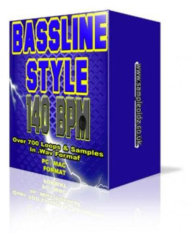 BASSLINE 140 BPM SAMPLE PACK