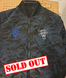 1 off Bomber / Blue Camo Jacket EXCLUSIVE