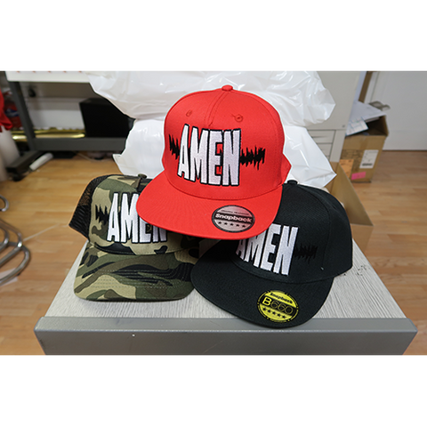 AMEN SNAPBACK CAP ( BY BIZZY B )