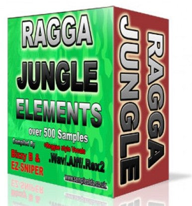 RAGGA JUNGLE ELEMENTS - OUT NOW!!