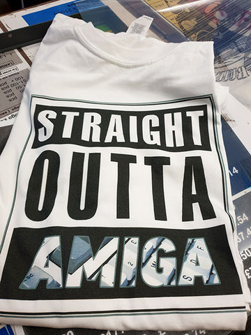 Straight outa Amiga T shirt