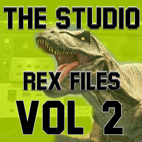 The Studio Rex Files VOL 2 ( By Bizzy B )