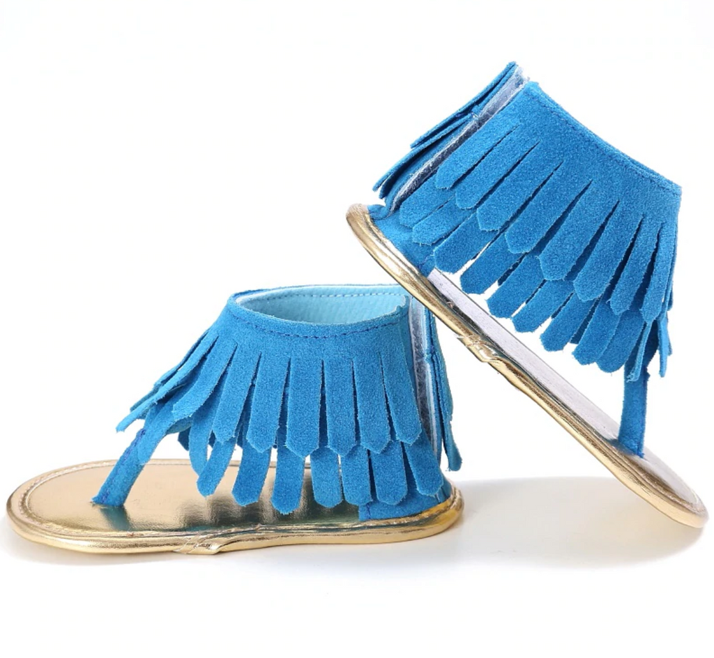 All About The Fringe - Sandal