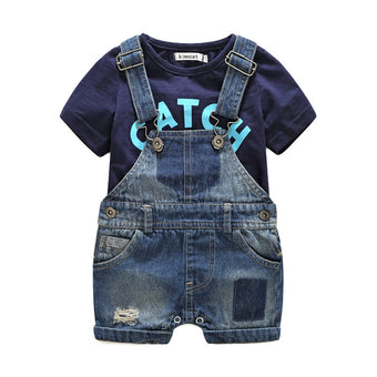 Catch Some Waves Boys Overalls