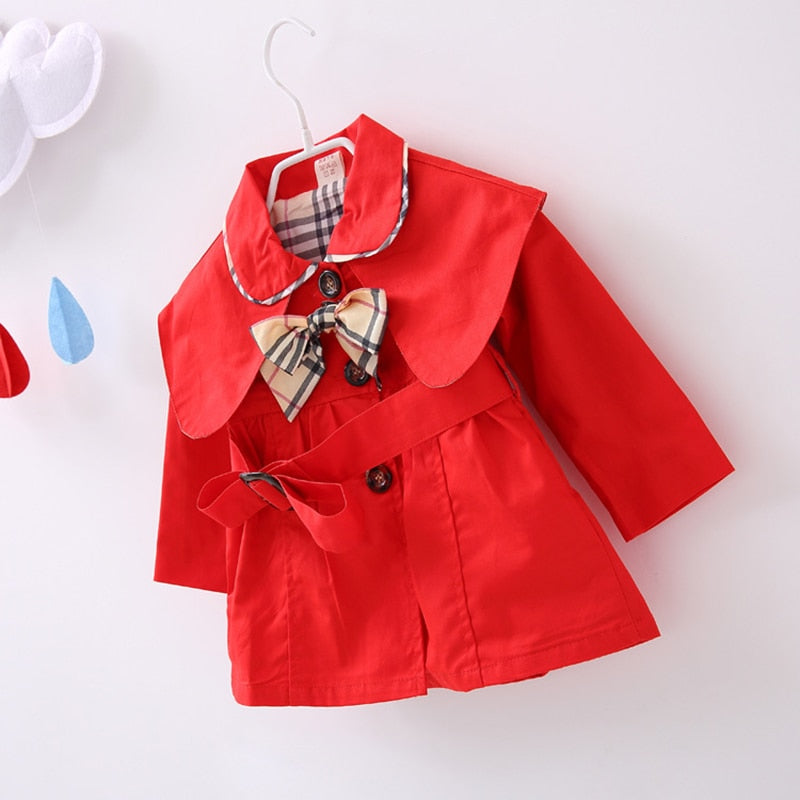 As Long As I'm Happy - Baby Girl's Trench Coat