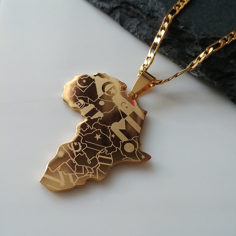 Flags of Africa Pendant - Iṣura