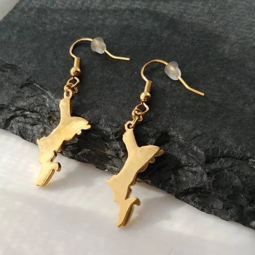 Seychelles Island Earrings - Iṣura