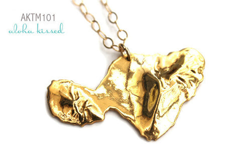 Gold Maui Necklace