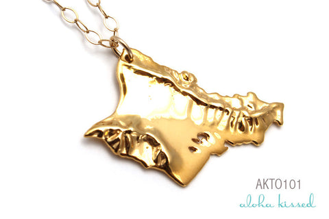 Gold Oahu Necklace