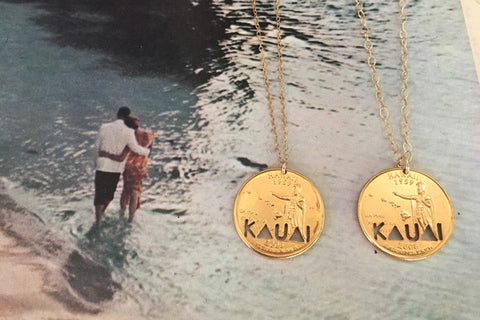 KAUAI Quarter Necklace - 50% OFF