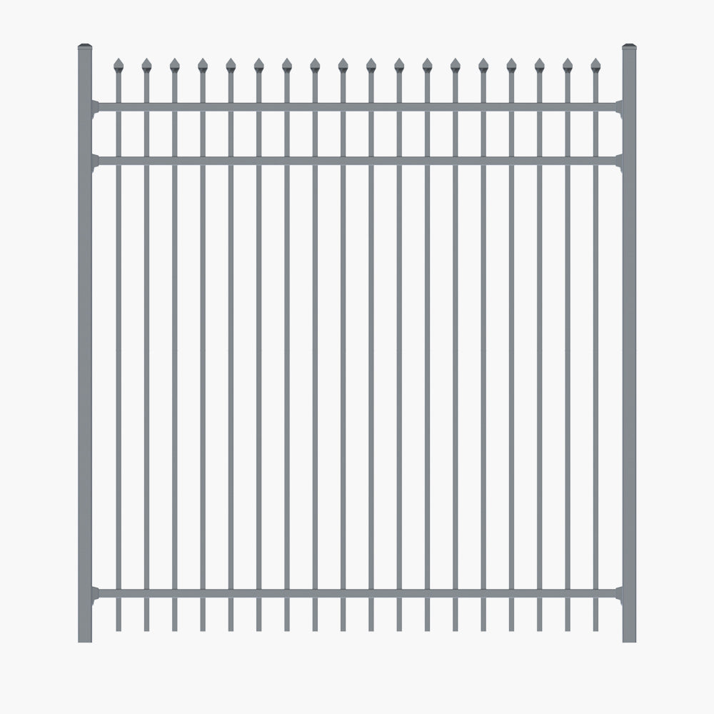 The Mercury Security-Aluminium Raking Security Panel-FenceLab