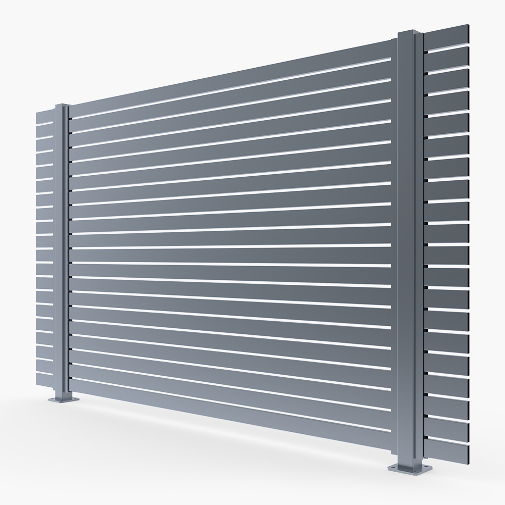 The Oasis-Aluminium Slat Fence Panel-FenceLab