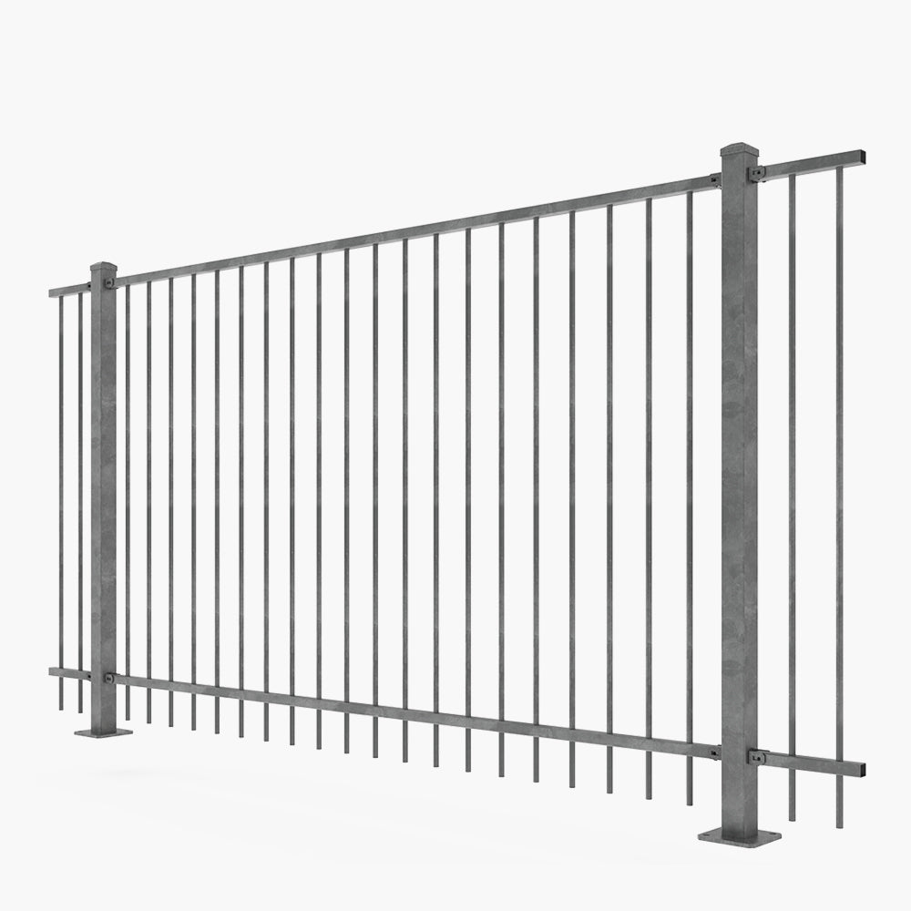 The Chiefs-Hot Dip Galv Steel Fence Panel-FenceLab