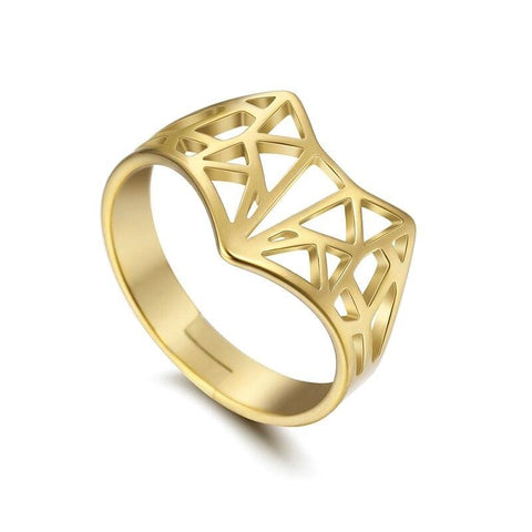Stylized Fox Ring (Gold, Silver & Rose Gold)