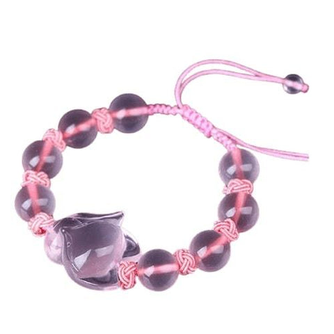 Fox Bracelet Women In Pearl