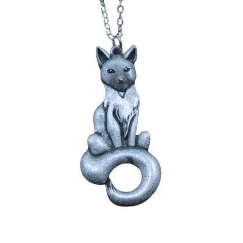 Fox Necklace Steel