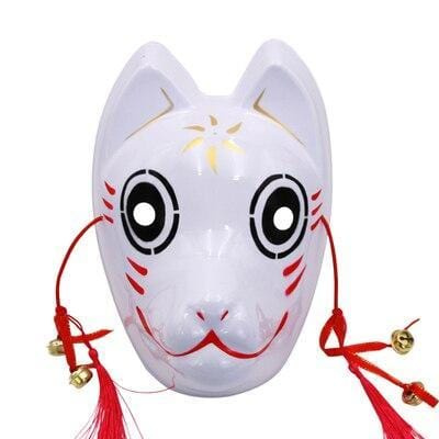 Le Renard Roux 8 Full Face Hand-Painted Naruto Hatake Kakashi Anbu Red Japanese Kitsune Cosplay Fox Masks Halloween Cartoon Character Costumesg