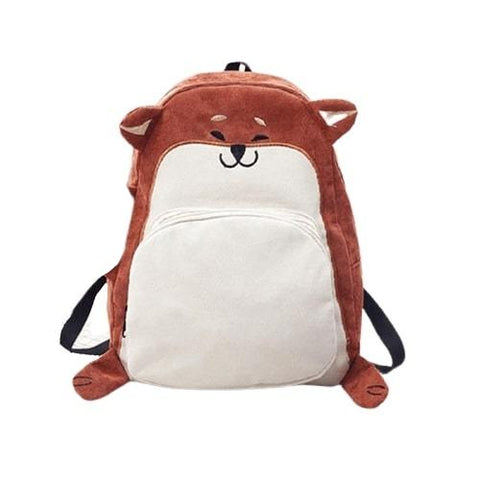 Fox Peluche Backpack