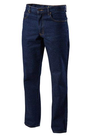 1/4 Oz Enzyme Washed Rigid Denim Jean