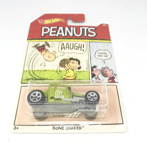 peanuts hot wheels car bone shaker