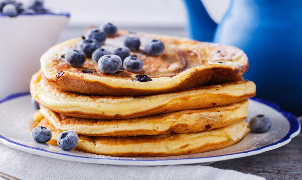 Healthy pancakes for any day of the week