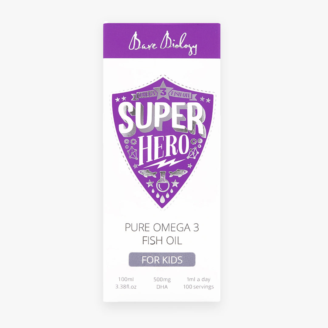 Super Hero Omega 3 Fish Oil Liquid