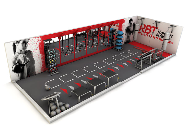 1A Example Layout Functional Area Within A GymHealth