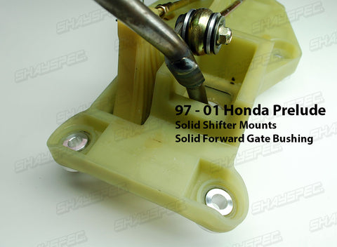 Solid Shifter Assembly Mounts (97-01 Prelude)
