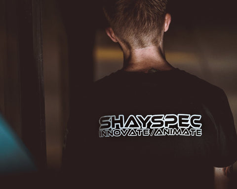 Shayspec T-Shirt 'Innovate/Animate'