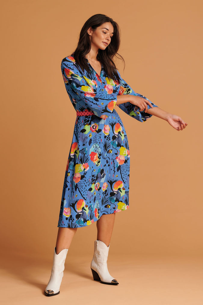 KLEID - Delicious Mess Blue