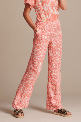 PANTS - Bouncing Stripes Coral