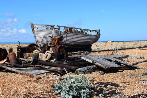 Boat wreck Dungeness