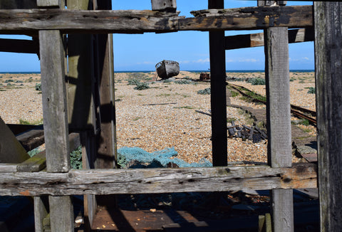 Dungeness wrecked shed