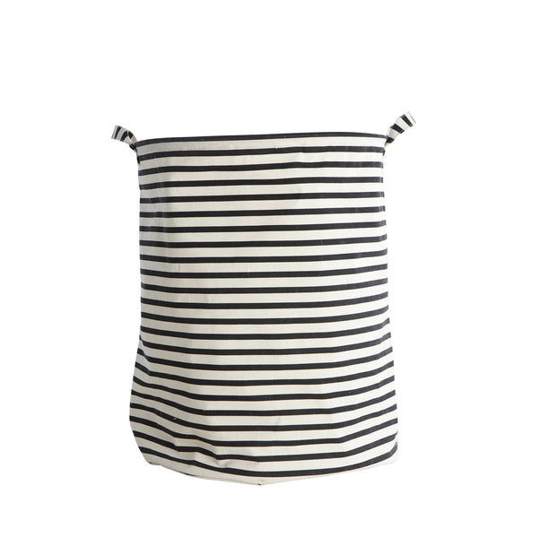 Stripe laundry or storage bag by House Doctor