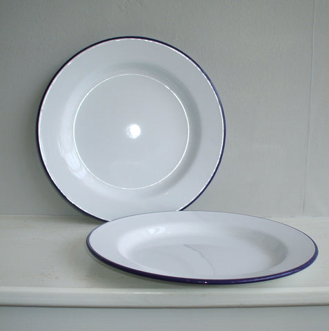 Traditional Falcon enamel plates - Housekeeping Store