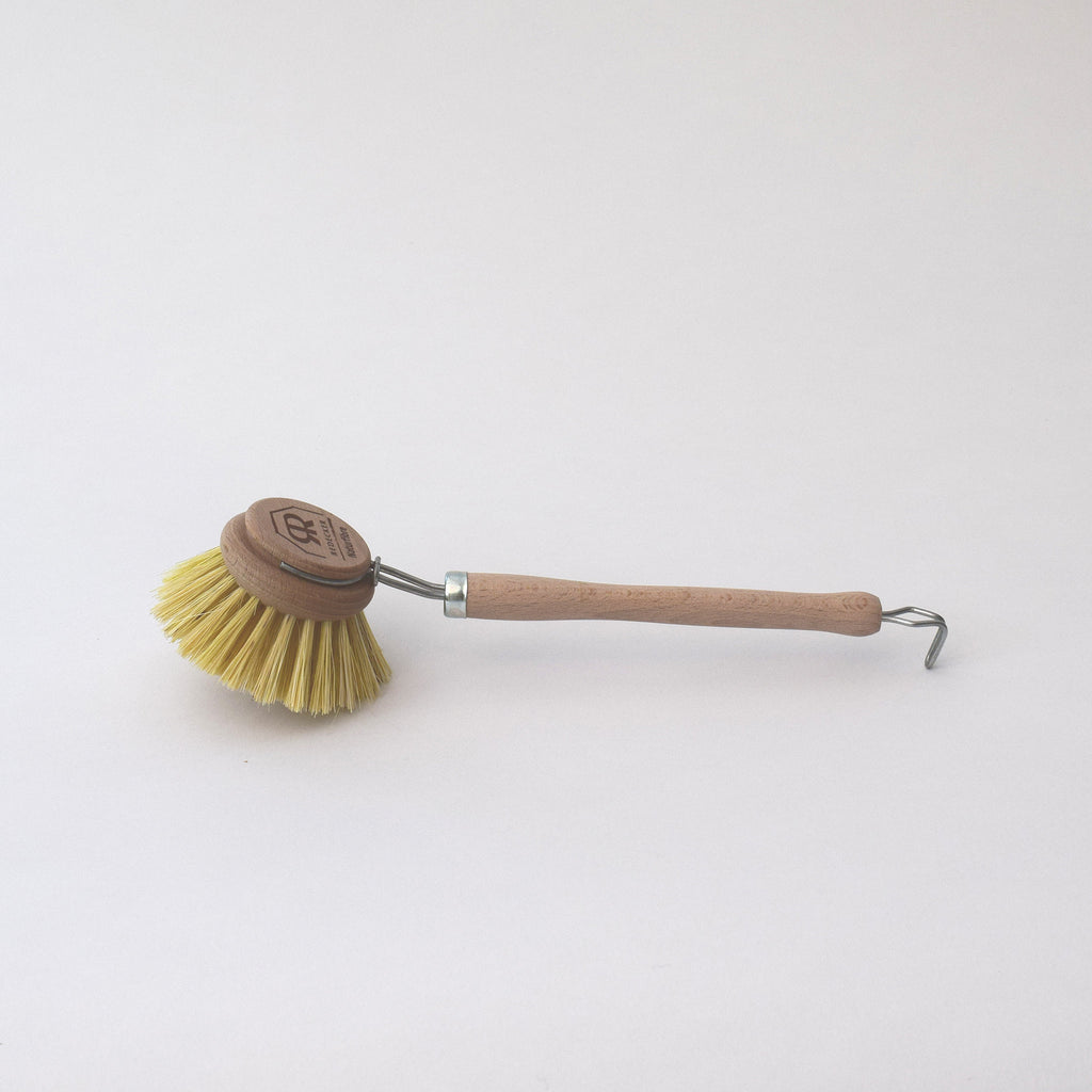 Natural wooden dish brush by Redecker
